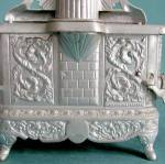 Click to view larger image of Large Rival Nickel Plated Child's Stove (Image5)