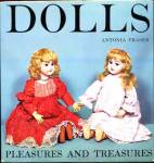 Click here to enlarge image and see more about item DOLLB12: Doll Book: Dolls, Pleasures & Treasures