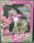 Click here to enlarge image and see more about item DOLLBAR9: 1988 Animal Lovin Barbie Pet Zizi Zebra