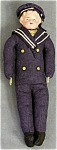 """Click here to enlarge image and see more about item DOLLCELL2: Celluloid Head Sailor Doll : 9 1/2"""" tall Vintage"""