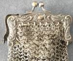 Click to view larger image of Vintage Tiny Metal Mesh Purse (Image2)