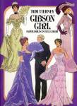 Click here to enlarge image and see more about item DPAP18: Tom Tierney: Gibson Girl, Paper Dolls