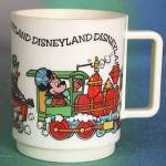 Click to view larger image of Vintage Disneyland Plastic Mug (Image2)