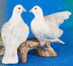 Vintage Lefton Doves