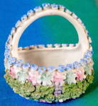 Vintage German Elfinware Miniature Basket
