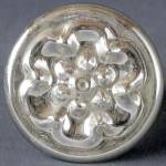 Click here to enlarge image and see more about item FVDH19: Vintage Mercury Glass Curtain Tieback