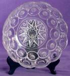 Vintage Clear Glass Moon and Stars Bowl