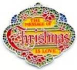 Click here to enlarge image and see more about item HALG39: Hallmark Colors of Christmas Words Of Christmas