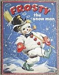 Click here to enlarge image and see more about item HCS6: Vintage Frosty the Snowman Puzzle