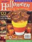 Click here to enlarge image and see more about item HPA21: Halloween Party Ideas & Recipes VintageMidnight Cake