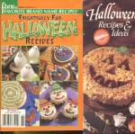 Click here to enlarge image and see more about item HPA2: Halloween Wilton & FBNR Recipe Books