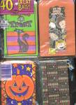 Click here to enlarge image and see more about item HPA32: Vintage Hlalloween Treat Bags Set Of 4 Packs