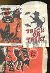 Click here to enlarge image and see more about item HPA65: Vintage Halloween Treat Bags Set Of 6