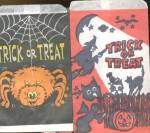 Click here to enlarge image and see more about item HPA67: Vintage Halloween Treat Bags Set Of 6