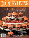 Click here to enlarge image and see more about item HPA6: Country Living Halloween Issue.