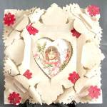 Click here to enlarge image and see more about item HV106: Vintage Large Valentine
