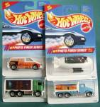 Click here to enlarge image and see more about item HW9: Hot Wheels Photo FinishSeries Set