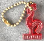 Click here to enlarge image and see more about item KA4: vintage Bantamac Red Rooster