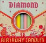 Vintage 36 Birthday Cake Candles