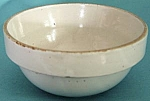 Click here to enlarge image and see more about item KGEN121: Vintage Stoneware Mixing Bowl
