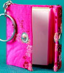 Click to view larger image of Mini Fabric Hardcover Notebook Mini Journal  (Image1)