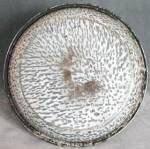 Click to view larger image of Vintage 2 Tone Gray Graniteware Pie Plate (Image2)