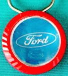 Click here to enlarge image and see more about item KT1: Vintage Ford Keychain