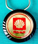 Click here to enlarge image and see more about item KT3:  Vintage Shell Keychain
