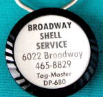 Click to view larger image of  Vintage Shell Keychain (Image2)