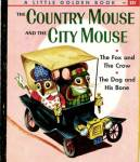 Click here to enlarge image and see more about item LGB12: The Country Mouse & the City Mouse