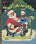 Walt Disney's Donald Duck and Santa Claus