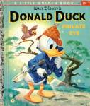 Click here to enlarge image and see more about item LGB33: Walt Disney's Donald Duck Private Eye