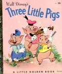 Click here to enlarge image and see more about item LGB34: Walt Disney's The Three Little Pigs
