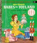 Click here to enlarge image and see more about item LGB38: Walt Disney's Babes in Toyland Little Golden Book