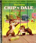 Click here to enlarge image and see more about item LGB43: Walt Disney's Chip & Dale At the Zoo