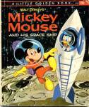 Click here to enlarge image and see more about item LGB45: Walt Disney's Micky Mouse & His Space Ship