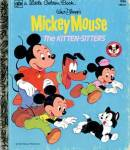 Click here to enlarge image and see more about item LGB46: Walt Disney's Mickey Mouse The Kitten-Sitters