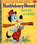 Click here to enlarge image and see more about item LGB48: Huckleberry Hound Little Golden Book