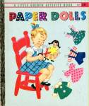 Click here to enlarge image and see more about item LGB50: Paper Dolls Activity Book