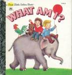 Vintage What Am I? First Little Golden Book