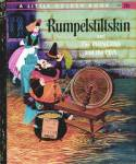 Click here to enlarge image and see more about item LGB5: Rumpelstiltskin/The Princess/the Pea Little Golden Book