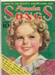 Click here to enlarge image and see more about item MEMVCE9: Vintage Shirley Temple on Cover of Popular Songs