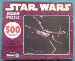Click here to enlarge image and see more about item MM18: Star Wars  Space Battle  Jigsaw Puzzle
