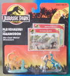 Click here to enlarge image and see more about item MM43: Kenner Jurassic Park Die Cast Dinosaur Figures 2 Cards