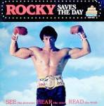 Click here to enlarge image and see more about item MR25: Rocky Saves The Day Record & Book