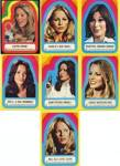 Click here to enlarge image and see more about item MTV62: Vintage Charlie's Angels Stickers 7