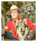 Click here to enlarge image and see more about item MTV90: Sergeant Preston of the Yukon & King Photo