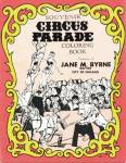 Click here to enlarge image and see more about item MVCIR1: Souvenir Circus Parade Coloring Book