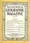 Click here to enlarge image and see more about item MVNG7: Vintage National Geographic 1923