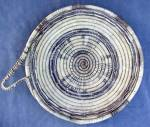 Click here to enlarge image and see more about item NAB1: Vintage Indian Hobe Basket